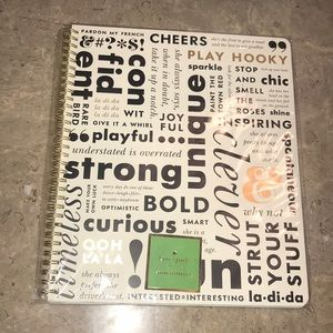 Kate Spade New York What Do You Say Notebook